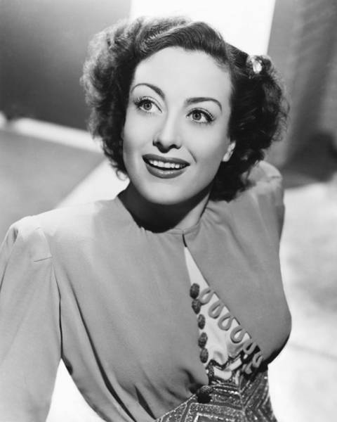 Crawford Photograph - Joan Crawford by Silver Screen