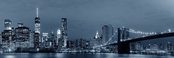 Wall Art - Photograph - Manhattan Downtown by Songquan Deng