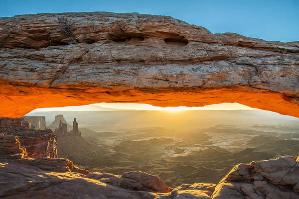 Photograph - Mesa Arch Sunrise In Canyonlands National Park by Pierre Leclerc Photography