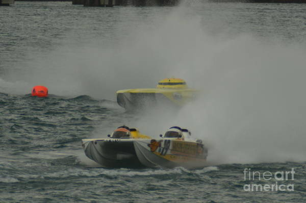 Port Huron Sarnia International Offshore Powerboat Race Art Print
