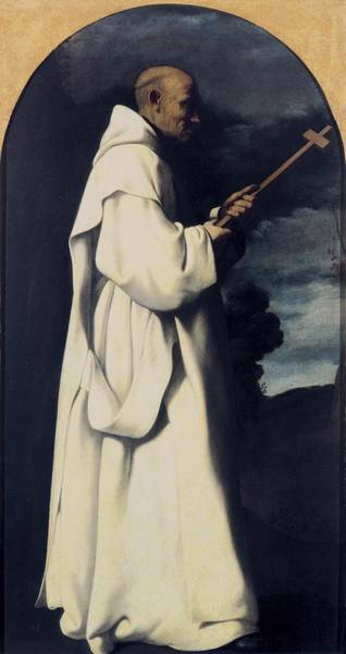 Carthusian Photograph - Zurbaran, Francisco De 1598-1664. Saint by Everett