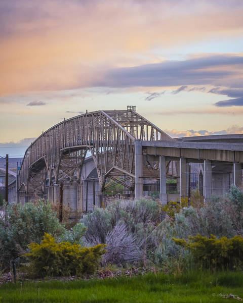 Photograph - 140427a-8 Umatilla Bridges by Albert Seger