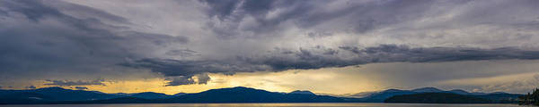 Photograph - Priest Lake Storm  -  140820a-020 by Albert Seger