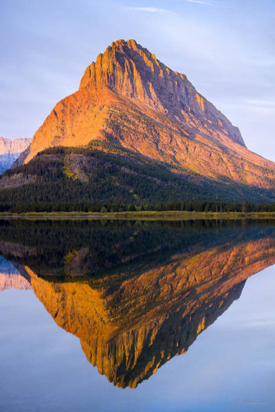 Photograph - 140917a-060 Grinnell Point At Sunrise by Albert Seger