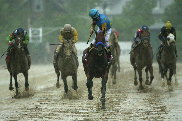 Baltimore Photograph - 140th Preakness Stakes by Patrick Smith