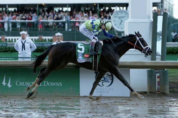 Topix Photograph - 143rd Kentucky Derby by Michael Reaves