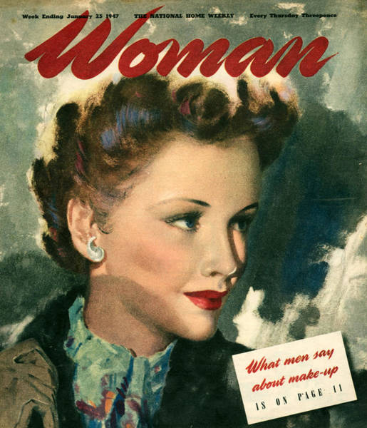 Wall Art - Photograph - 1940s Uk Woman Magazine Cover by The Advertising Archives
