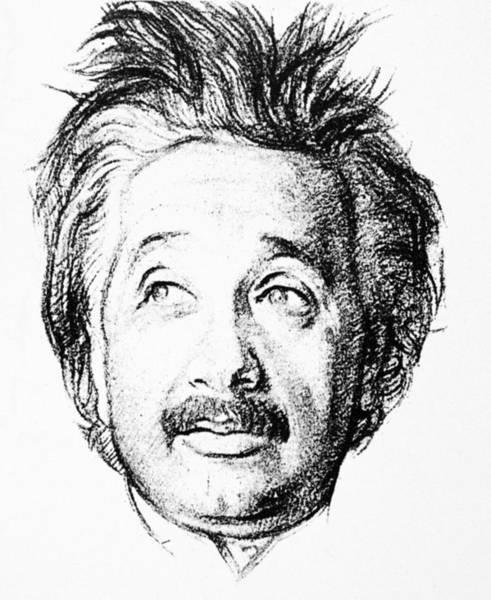 1924 Drawing - Albert Einstein (1879-1955) by Granger