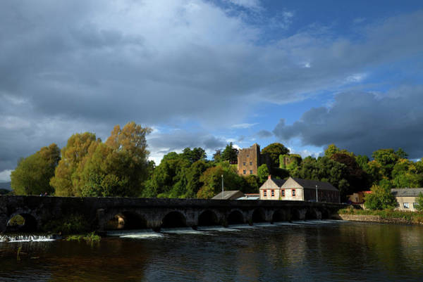 Suir Photograph - 15 Arch Bridge Over The River Suir by Panoramic Images