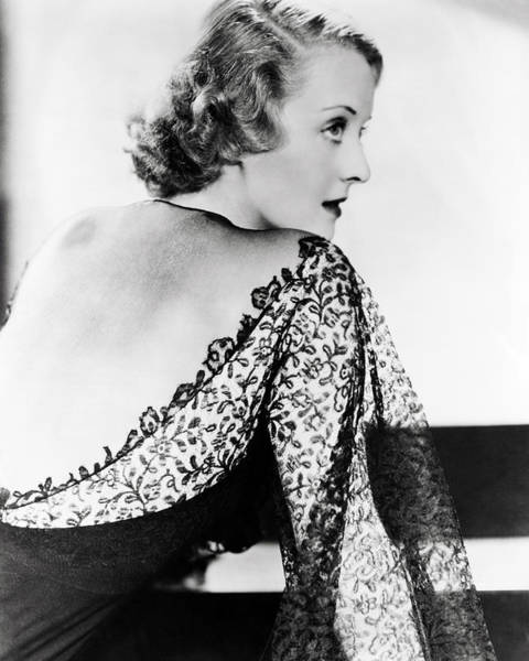 Davis Photograph - Bette Davis by Silver Screen