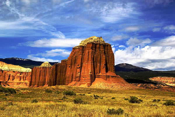 Capitol Reef National  Park Cathedral Valley Art Print
