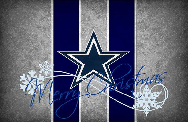 Offense Photograph - Dallas Cowboys by Joe Hamilton