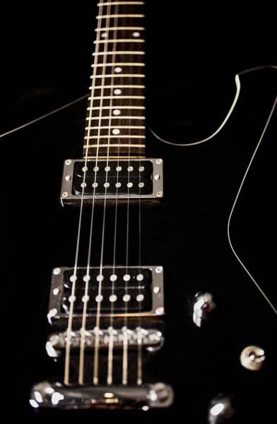 Fret Board Photograph - Electric Guitar Artistic by Jani Bryson
