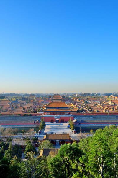 Wall Art - Photograph - Forbidden City by Songquan Deng