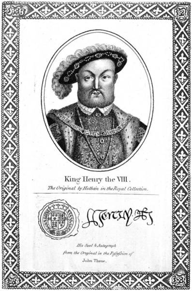 Painting - Henry Viii (1491-1547) by Granger
