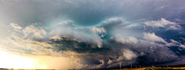 Photograph - Industrial Light And Nebraska Thunderstorm Magic by NebraskaSC