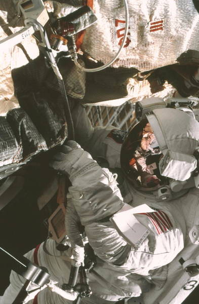 Wall Art - Photograph - Iss Space Walk by Nasa/science Photo Library