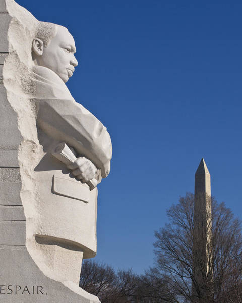 Martin Luther King Jr Memorial Art Print