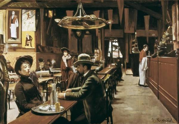 Wall Art - Photograph - Rusi�ol I Prats, Santiago 1861-1931 by Everett