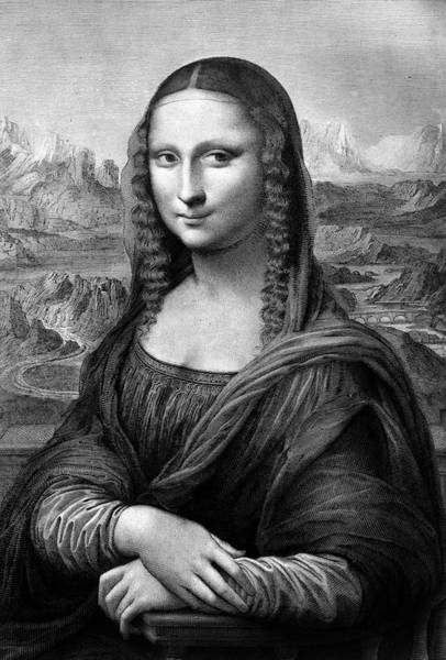 Ambiguous Painting - 1500s Mona Lisa Painting By Leonardo Da by Vintage Images