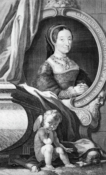 Beheaded Wall Art - Painting - 1500s Portrait Catherine Howard Fifth by Vintage Images