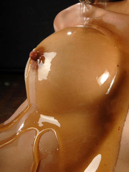 Photograph - 1545 Honey Coated Breast by Chris Maher