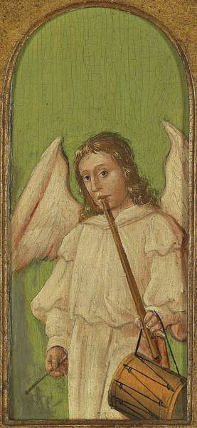 Painting - 15th Century Angel Painting 4 by Movie Poster Prints