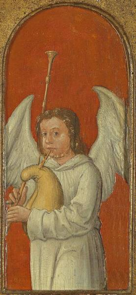 Painting - 15th Century Angel Painting 6 by Movie Poster Prints