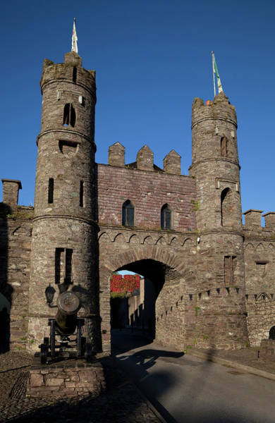 Eire Photograph - 15th Century Castle In The Market by Panoramic Images
