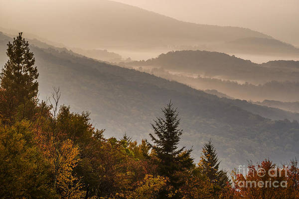 Highland Scenic Highway Wall Art - Photograph - Allegheny Mountain Sunrise #4 by Thomas R Fletcher