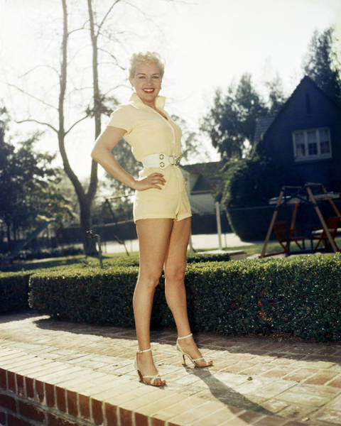 Glamorous Photograph - Betty Grable by Silver Screen