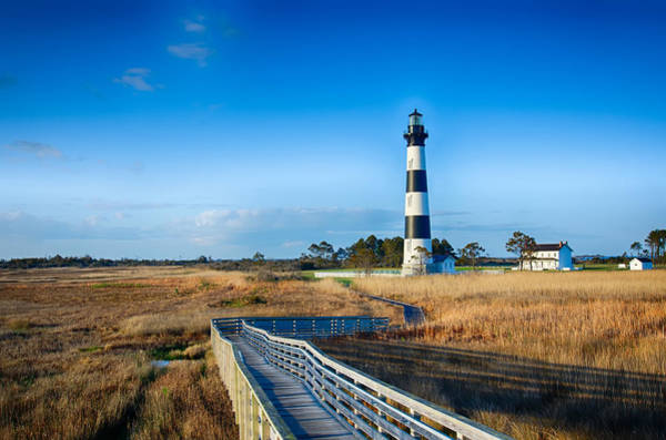 Photograph - Bodie Island Lighthouse Obx Cape Hatteras North Carolina by Alex Grichenko