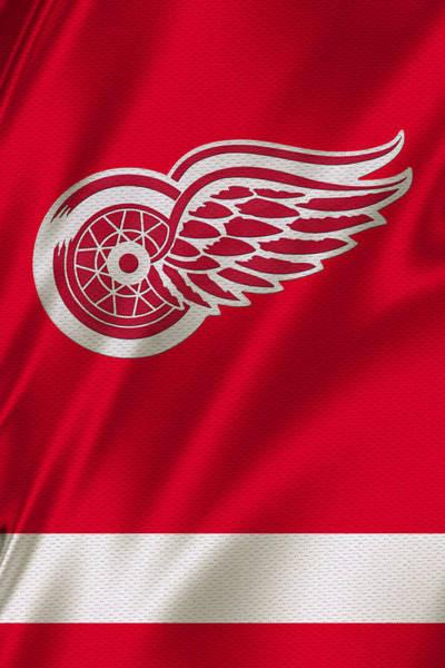 Detroit Photograph - Detroit Red Wings by Joe Hamilton