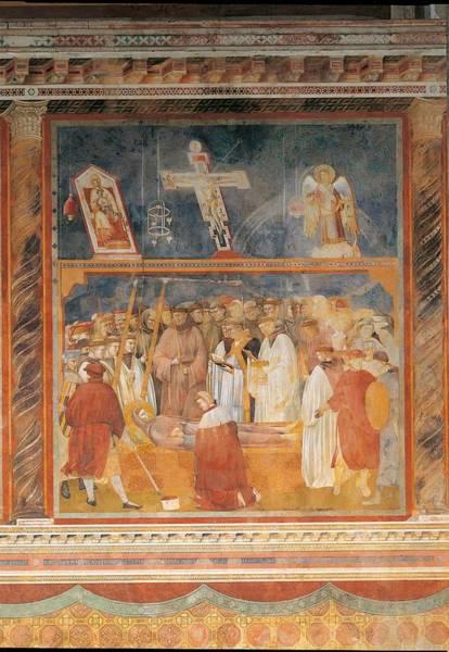 Italy, Umbria, Perugia, Assisi, Upper Art Print