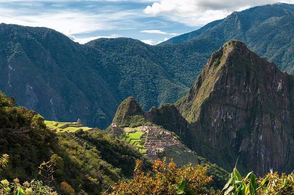 Wall Art - Photograph - Machu Picchu  by U Schade
