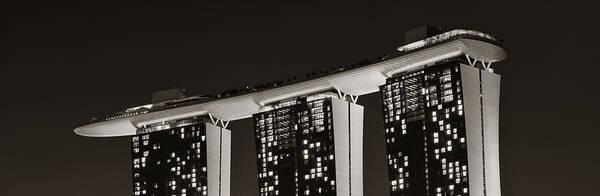Photograph - Marina Bay Sands by Songquan Deng
