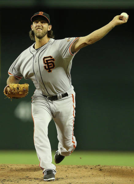 Major League Baseball Photograph - San Francisco Giants V Arizona by Christian Petersen