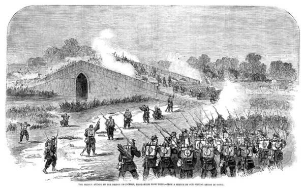 Wall Art - Painting - Second Opium War, 1860 by Granger