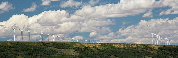 Wall Art - Photograph - Wind Farm by Jim West