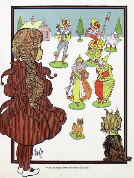Wizard Of Oz, 1900 Art Print