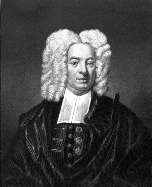 Trial Painting - 1600s Cotton Mather New England Puritan by Vintage Images