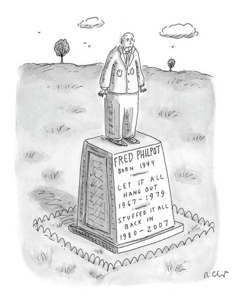 1980 Drawing - New Yorker March 20th, 2000 by Roz Chast