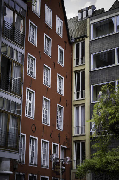 Germania Photograph - 1643 Townhouse Cologne by Teresa Mucha