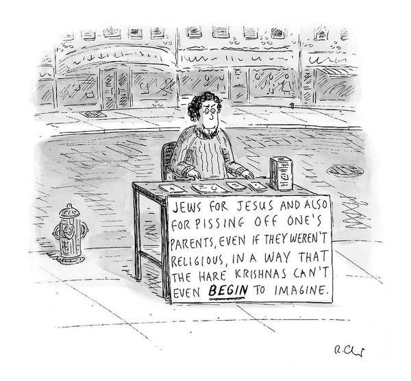 2004 Drawing - New Yorker October 25th, 2004 by Roz Chast