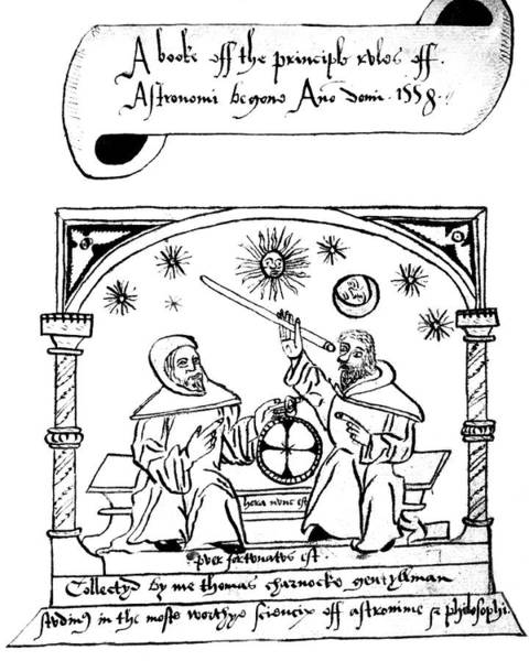 Title Page Wall Art - Photograph - 16th Century English Astronomy by Royal Astronomical Society/science Photo Library