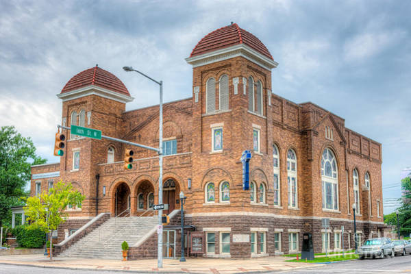 Photograph - 16th Street Baptist Church I by Clarence Holmes