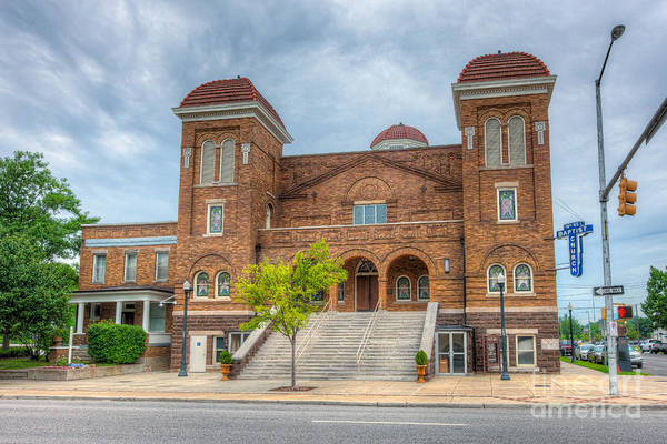 Photograph - 16th Street Baptist Church IIi by Clarence Holmes
