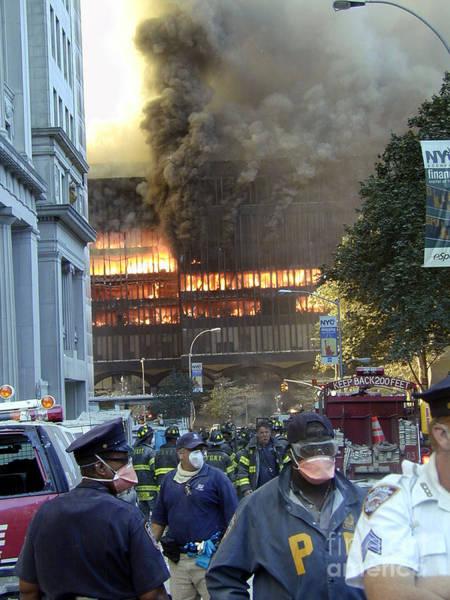 Photograph - 9-11-01 Wtc Terrorist Attack by Steven Spak