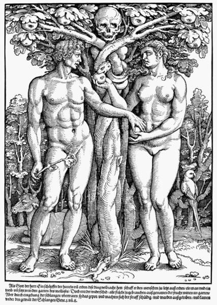 Painting - Adam And Eve by Granger