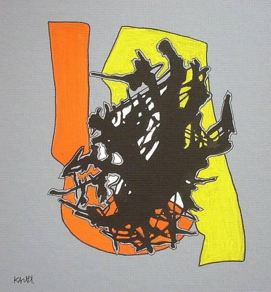 Conceptualism Painting - Asocialism  by Dmitry Kazakov